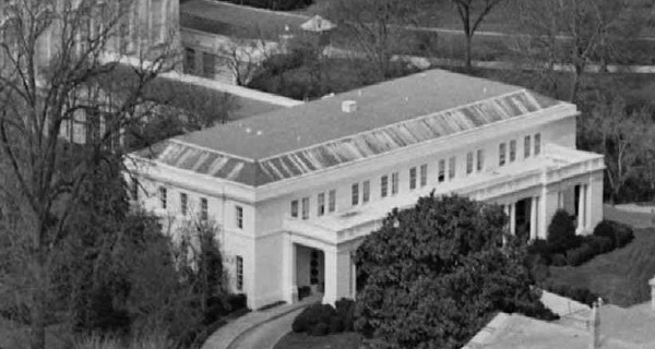 White House East Wing Exterior