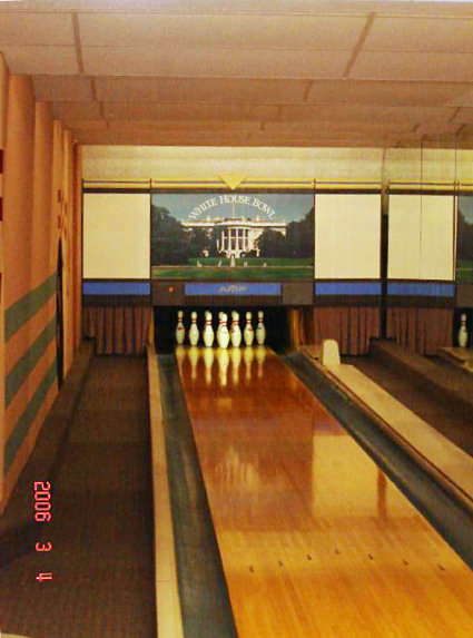 white house inside bowling alley images pictures becuo