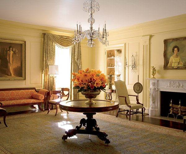 East Room Of The White House Decor
