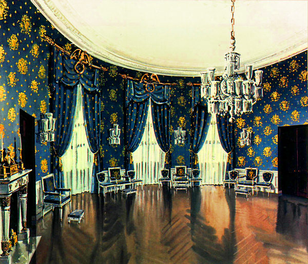 Blue Room - White House Museum