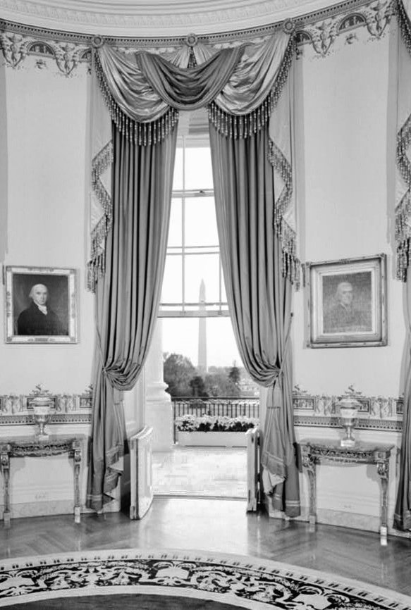 Blue Room White House Museum