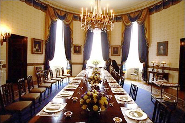 rooms in the white house