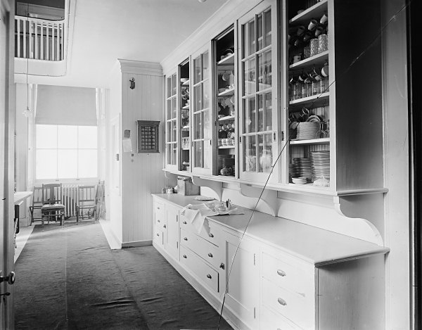 butler 39 s pantry white house museum. Black Bedroom Furniture Sets. Home Design Ideas