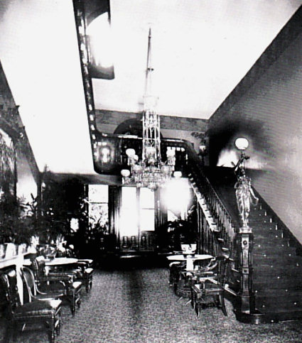 The old west staircase before