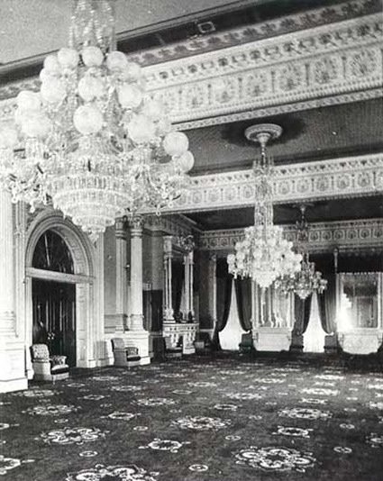 0239c8effa2 Grant s high Victorian redecoration of the East Room in 1873 (White House  Historical ...