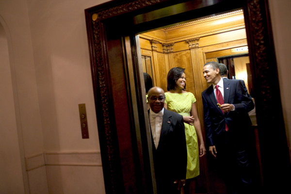 Family elevator white house museum for Elevator in the house