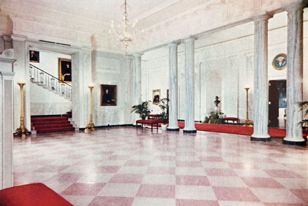 Entrance Hall White House Museum