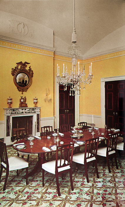 Family Dining Room White House Museum