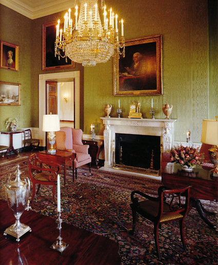 Green Room White House Museum