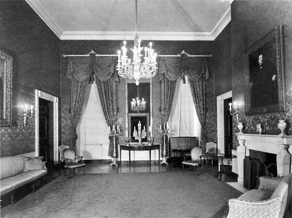 These Walls of White: the white house, four of five 1940s White House Scottie