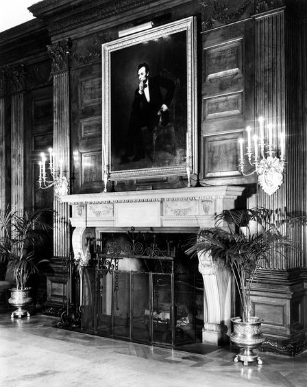 The State Dining Room Fireplace