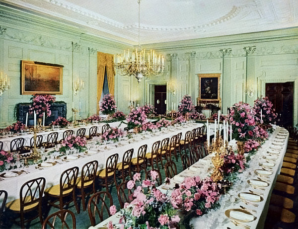 The Eisenhower State Dining Room