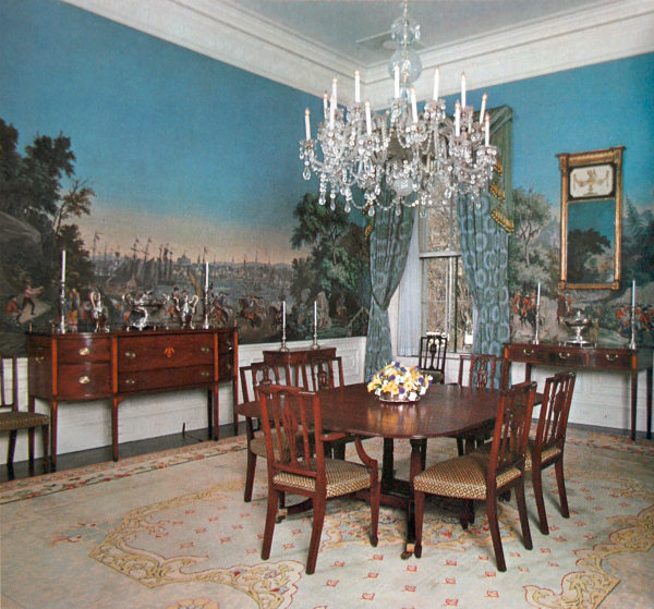 the room in 1975 white house historical association the nixon private dining - Private Dining Rooms