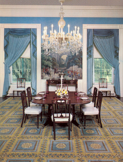 The Nixon Private Dining Room Circa 1970