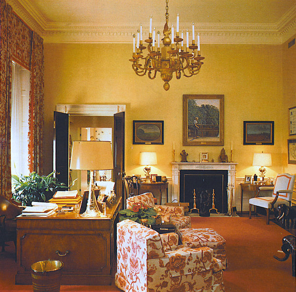 White house pictures living quarters