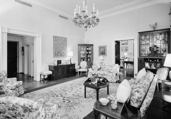 The. Living Room   White House Museum