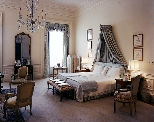 the master bedroom in 1962 when it was used as
