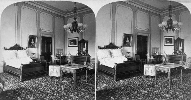 the room as the hayes bedroom circa 1878 stereo new york public