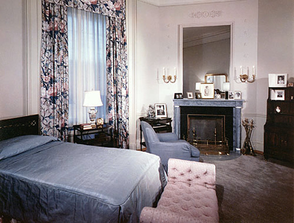 the dressing room as bess truman 39 s bedroom in 1952 kennedy library