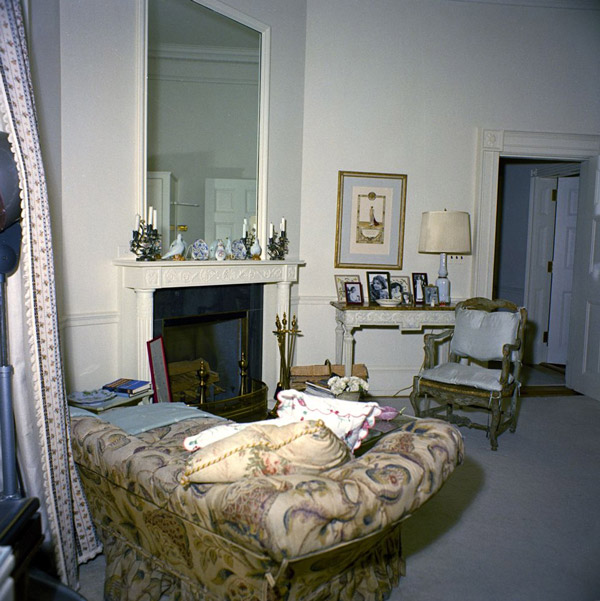 jackie kennedy 39 s dressing room in january 1962 kennedy library