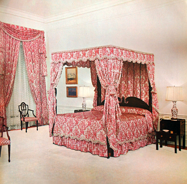 kennedy renovation white house museum On queens bedroom