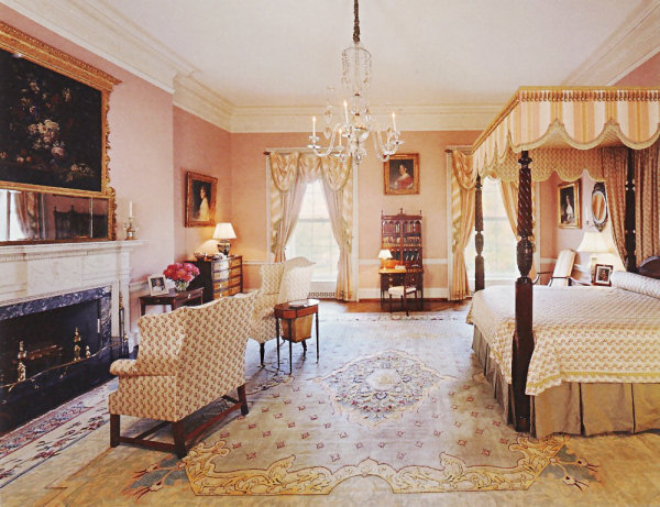 The. Queens  Bedroom   White House Museum
