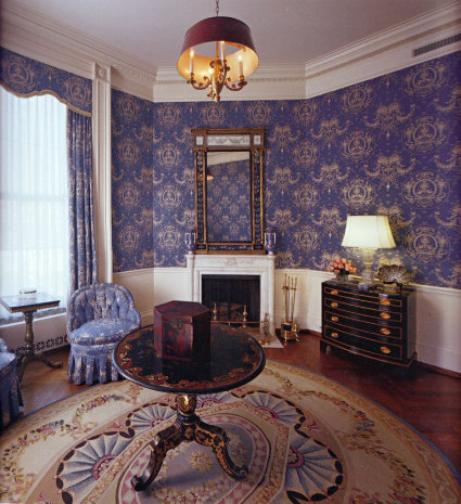 Queens 39 sitting room white house museum - White sitting rooms ...