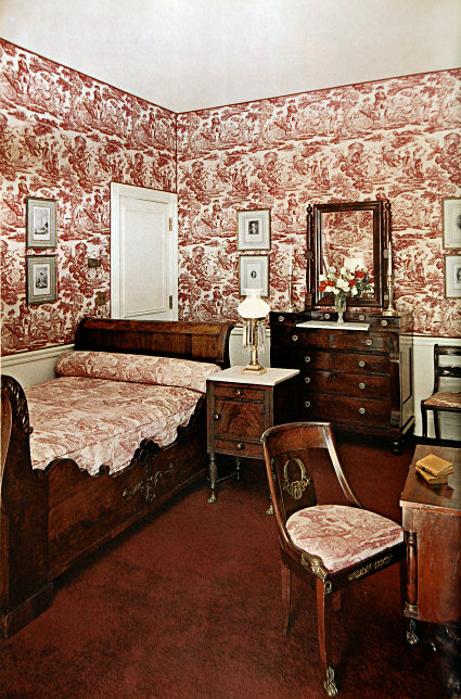 Southeast corner sitting room white house museum - White sitting rooms ...