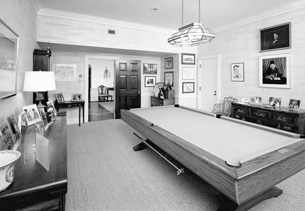 Game Room - White House Museum