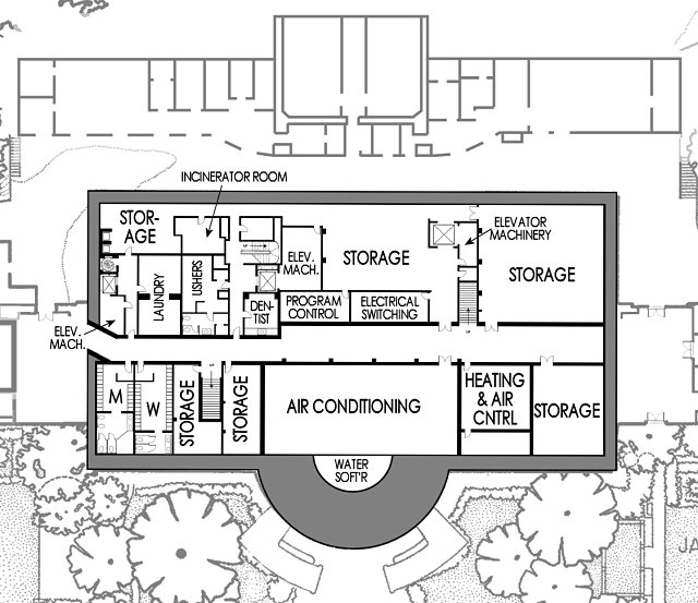 white house basement floor plan