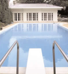 the pool and cabana in 2002 after renovation solar design associates - Outdoor House Pools
