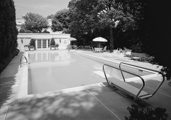 The Swimming Pool And Cabana In 1992 Habs