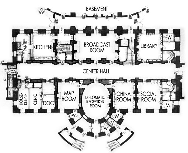 Ground Floor - White House Museum
