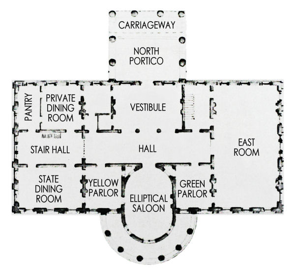 first floor white house museum