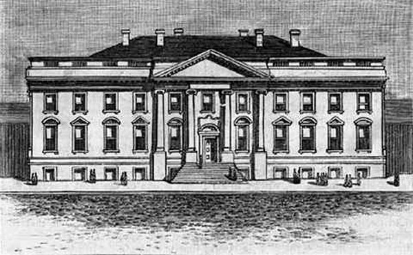 The White House in 1800