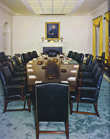 Cabinet Room - White House Museum