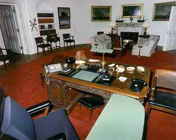 The New Kennedy Oval Office