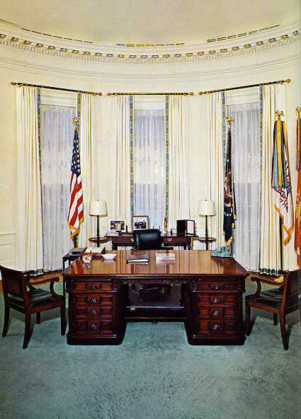 Red Wing Ford >> Oval Office History - White House Museum