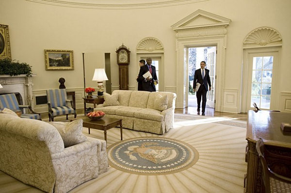 President Oval Office