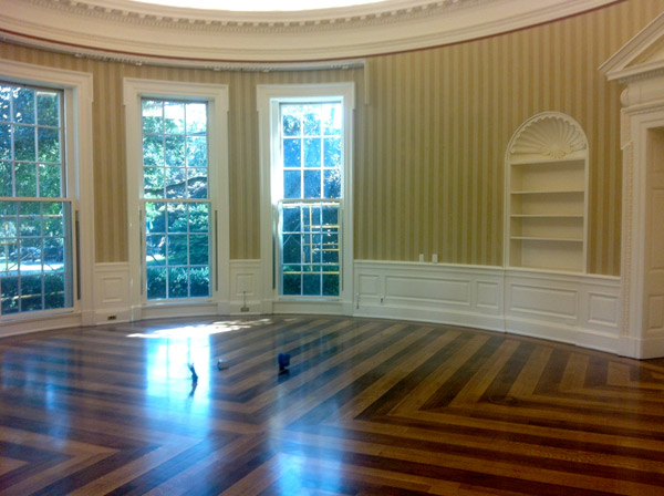 oval office - white house museum