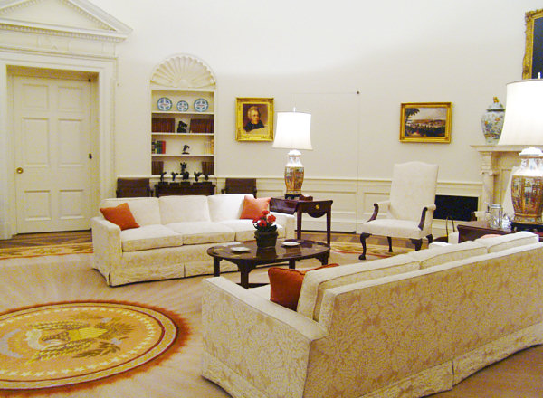 replica jfk white house oval office. Replica Of The Reagan Oval Jfk White House Office H