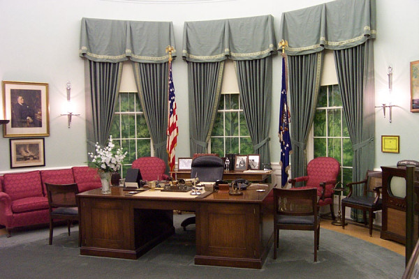 Oval Office History White House Museum