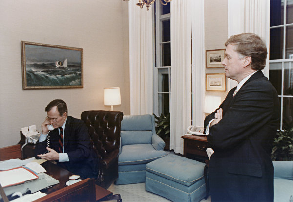 Presidents study in the white house