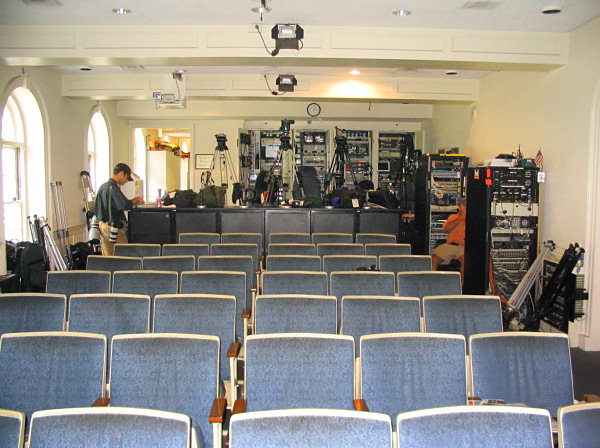White House Empty Press Briefing Room