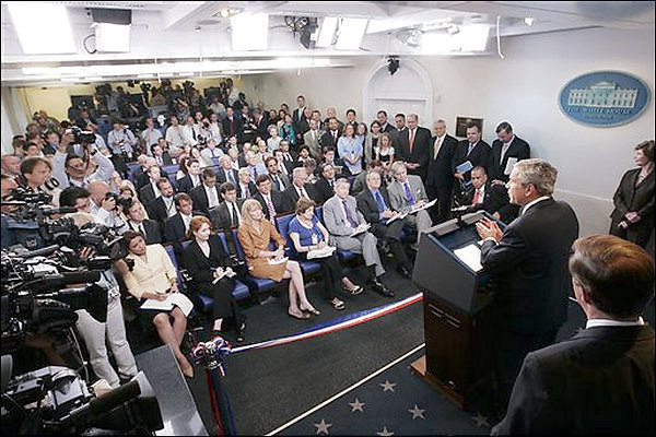 Press Briefing Room - White House Museum
