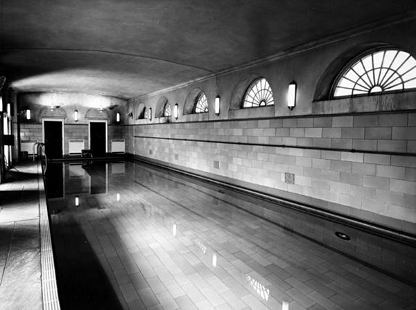Roosevelt s swimming pool  circa 1948   Truman Library  White House Swimming Pool