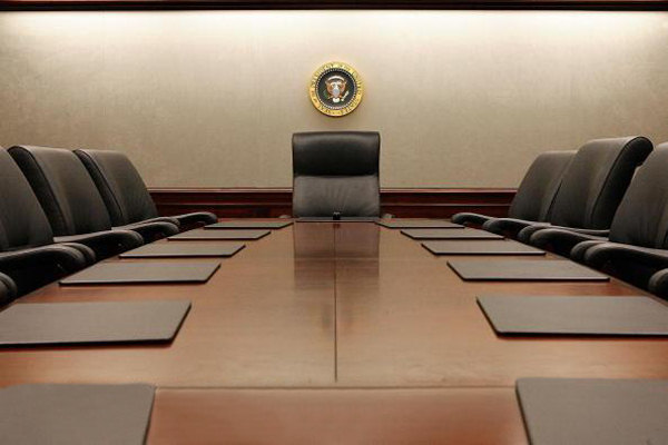 The Presidentu0027s Chair In The Main Conference Room In 2007 (Getty Images    Chip Somodevilla)